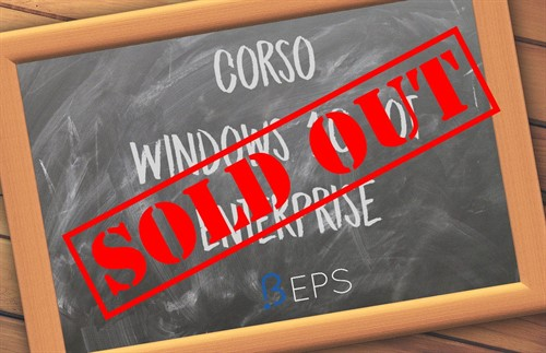 Corso Windows 10 IoT - Sold-out